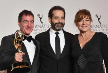 'La Casa de Papel' vence Emmy 2018 de Melhor Série Dramática   Angela Weiss   AFP