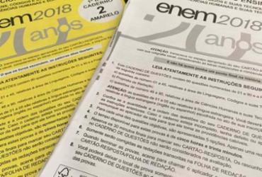 Professores dizem que provas exigiram menos cálculos do que as de 2017 | Reprodução