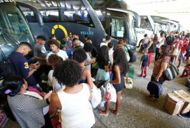 Rodoviária e ferryboat montam esquema especial para o feriadão | Luciano Carcará | Ag. A TARDE