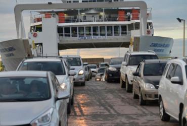 Movimento de retorno do feriado pelo ferryboat segue tranquilo | Shirley Stolze | Ag. A TARDE