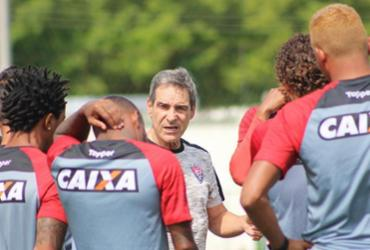 Com desfalques, Carpegiani recorre na base para montar Vitória em jogo decisivo   Moysés Suzart   EC Vitória