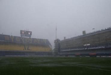 Forte chuva faz Conmebol adiar 1º jogo da final da Libertadores para este domingo   Divulgação