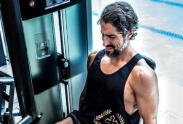 Marcos Mion celebra boa forma em vídeo de musculação | Reprodução | Instagram