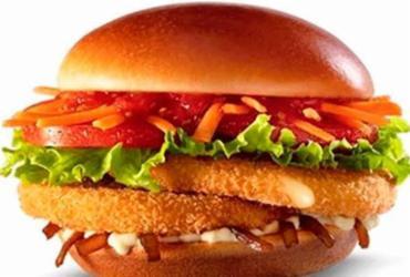 Rede de fast-food lança duas opções de sanduíches vegetarianos no cardápio | Reprodução