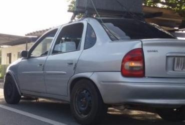 Motorista é preso com documentação falsa e carro furtado em Jequié   Divulgação   PRF