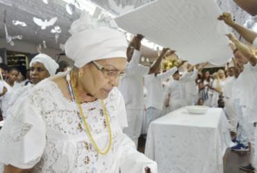 Ritual no Terreiro do Gantois marca 12ª edição da Alvorada dos Ojás   Shirley Stolze   Ag. A TARDE