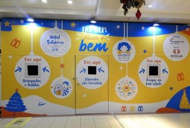 Shopping transforma loja vaga em espaço solidário neste Natal | Divulgação