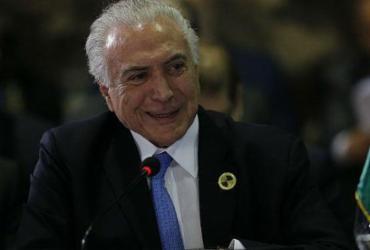 Temer diz que reajuste do STF não pode trazer 'agravo econômico' para o País   Cesar Itiberê l PR