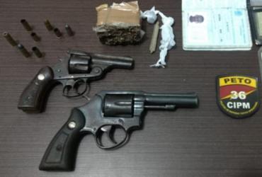 Três suspeitos de tráfico de drogas são detidos em D'Ávila