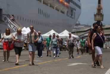 Mais de 3 mil turistas desembarcam no Porto de Salvador   Joá Souza l Ag. ATARDE