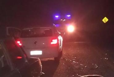 Carro atropela vaca na BA-148 e três pessoas ficam feridas | Divulgação | SSP-BA