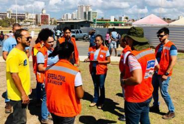 Arena do Festival Virada Salvador passa por inspeção   Divulgação   SECOM Salvador