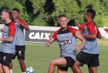 Ajuste tático fecha preparação do Vitória para duelo com Atlético-PR