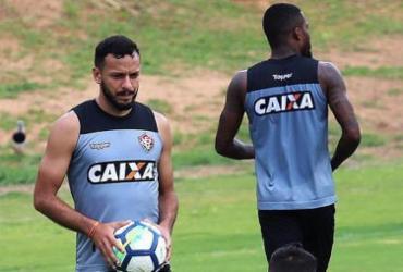 Vitória faz último treino antes de viajar para pegar o Cruzeiro   Maurícia da Matta l EC Vitória
