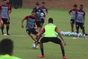 Mesmo rebaixado, Vitória foca no duelo com o Palmeiras   Maurícia da Matta l EC Vitória