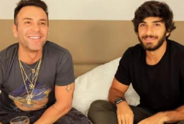 Hugo Moura, marido de Deborah Secco, revela que já beijou um homem | Reprodução | Youtuber