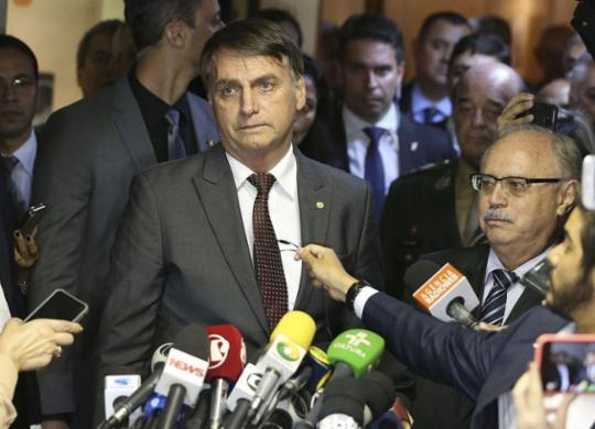 Bolsonaro apresenta defesa sobre falhas apontadas pela área técnica do TSE   Valter Campanato l Agência Brasil