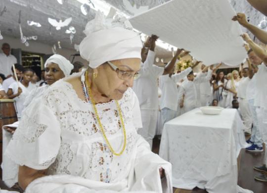 Alvorada dos Ojás realiza 12ª edição com ritual no Terreiro do Gantois   Shirley Stolze   Ag. A TARDE