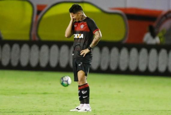 Vitória perde para o Atlético-PR e se complica na luta contra o rebaixamento | Tiago Caldas l Ag. A TARDE