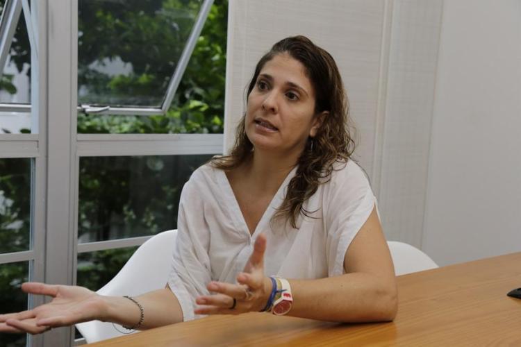 A socióloga Mariana Possas pesquisa homicídios em Salvador e em São Paulo - Foto: Gilberto Júnior / Ag. A TARDE