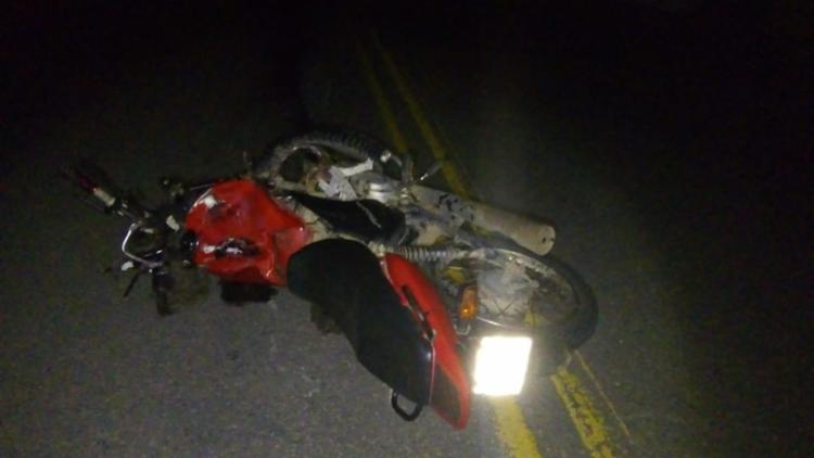 O casal que estava na motocicleta não resistiram e morreram