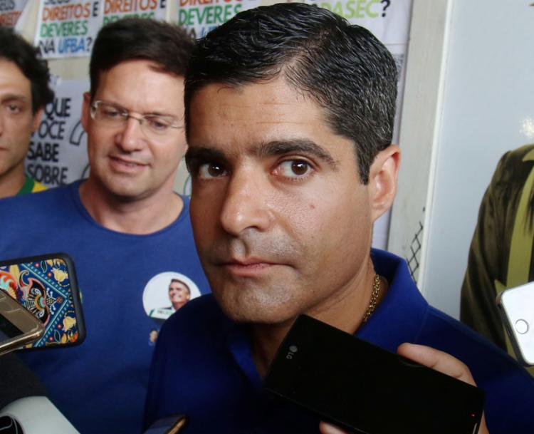 ACM Neto disse que a nova norma só passa a valer a partir das novas matrículas - Foto: Tiago Caldas l Ag. A TARDE