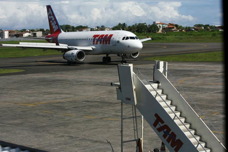 Concessionária Socicam assume operação do Aeroporto Jorge Amado, em Ilhéus - Foto: Joá Souza | Ag. A TARDE