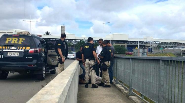 O homem foi conduzido para um centro de reabilitação - Foto: Divulgação | Nucom-BA