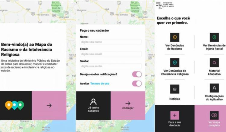 App contém informações que permitem que o usuário identifique casos de racismo e faça a denúncia