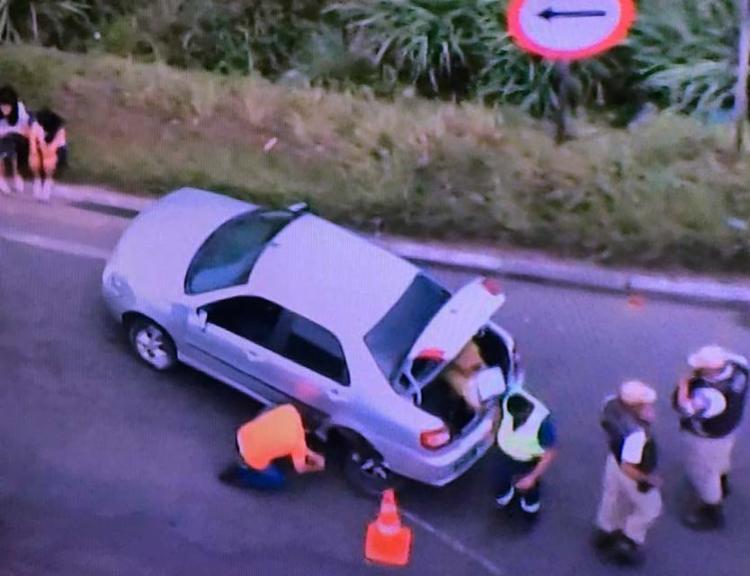 Caso foi registrado nas proximidades da Brasilgás, no em Campinas de Pirajá. - Foto: Reprodução | TV Record