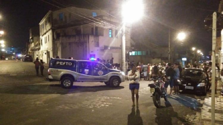 O crime aconteceu no bairro Tanque da Nação - Foto: Divulgação   Acorda Cidade