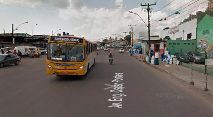 O trânsito voltou a fluir por volta das 9h - Foto: Reprodução | Google Maps