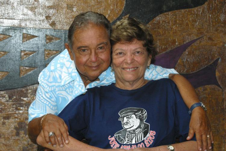 Calasans Neto e Auta Rosa viveram 42 anos juntos - Foto: Margarida Neide   Ag. A TARDE