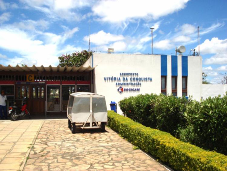Caso aconteceu no aeroporto de Vitória da Conquista - Foto: Divulgação | SOCICAM