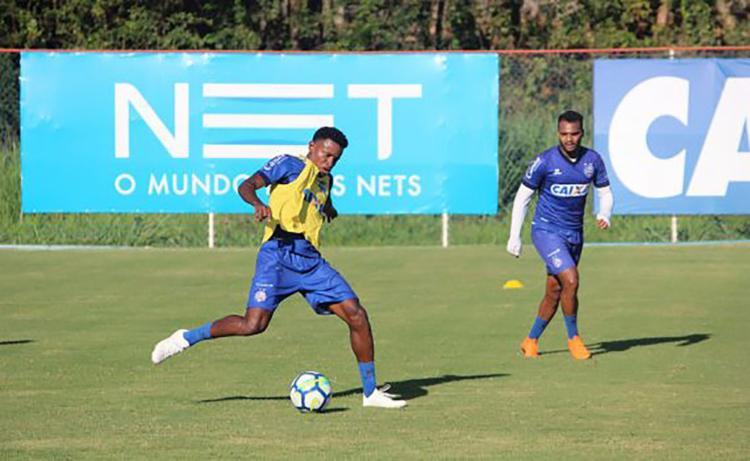 O primeiro desafio acontece neste domingo, 4, dia em que recebe a Chapecoense - Foto: Felipe Oliveira | EC Bahia