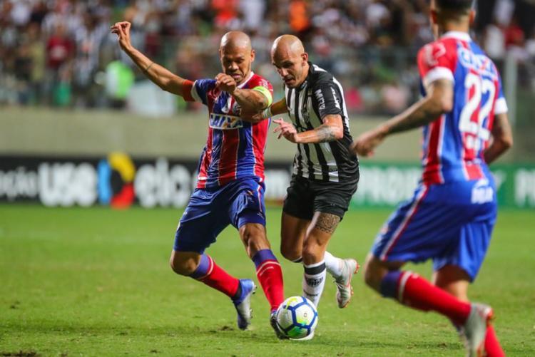Com o resultado, o Tricolor estacionou nos 44 pontos, em 10º lugar - Foto: Bruno Cantini l Atlético-MG