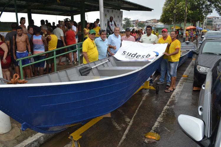 A entrega foi feita pela Superintendência dos Desportos do Estado da Bahia - Foto: Divulgação | Ascom