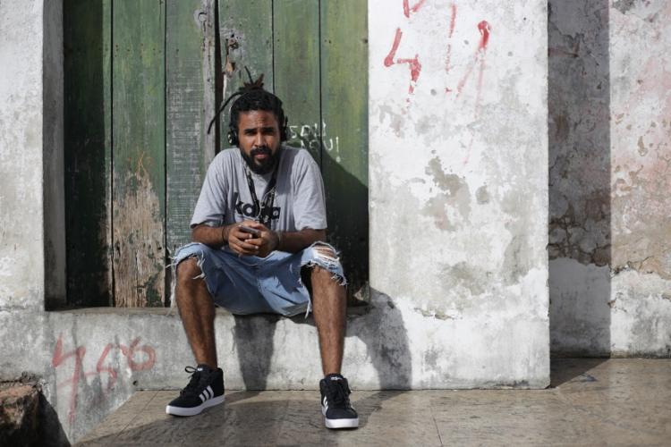 O cantor Baco Exu do Blues surgiu no projeto 3º Round - Foto: Raphael Muller | Ag. A TARDE