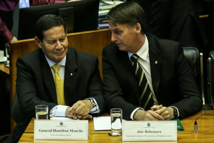 A estrutura do Planalto no governo Bolsonaro daria mais poderes ao general Mourão - Foto: Antônio Cruz | Agência Brasil