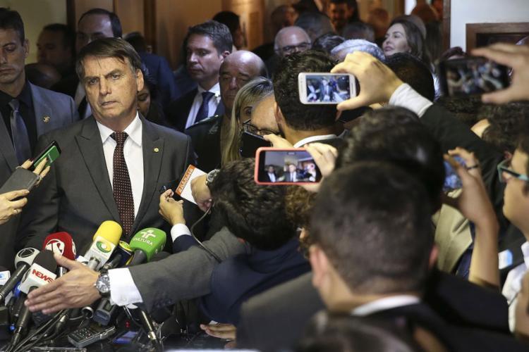 Presidente eleito afirmou que a estrutura do ministério será absorvida por outra pasta, mas não indicou qual - Foto: Valter Campanato l Agência Brasil