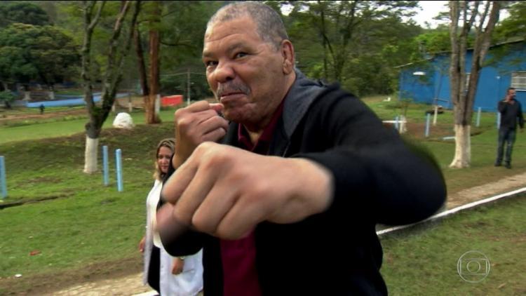 Esposa de Maguila, Irani Pinheiro se disse surpresa com o vídeo e prometeu acionar na Justiça seus responsáveis - Foto: Reprodução | TV Globo