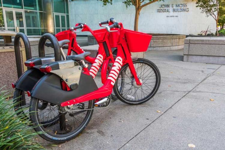 O Brasil será o primeiro país da América Latina a testar as bicicletas elétricas oferecidas pela empresa 'Jump' - Foto: Divulgação