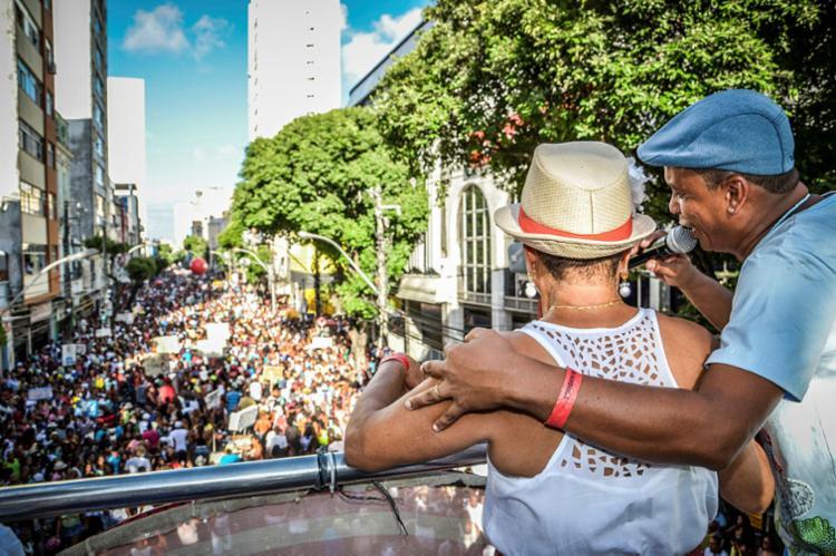 A tradicional caminhada do samba terá concentração a partir das 13h no Campo Grande