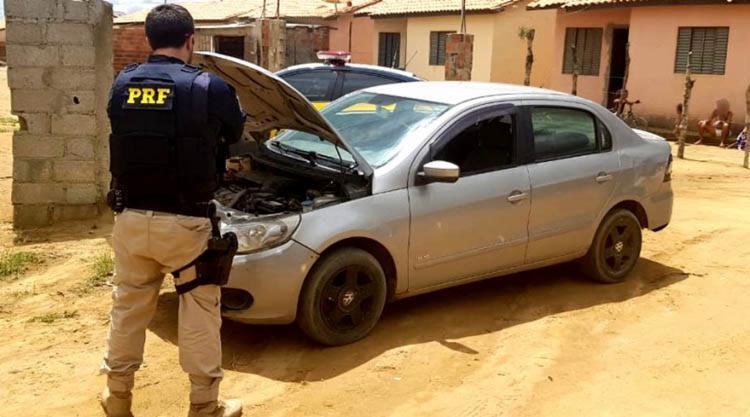 O veículo havia sido roubado em dezembro de 2012 na capital do estado de São Paulo - Foto: Divulgação | PRF