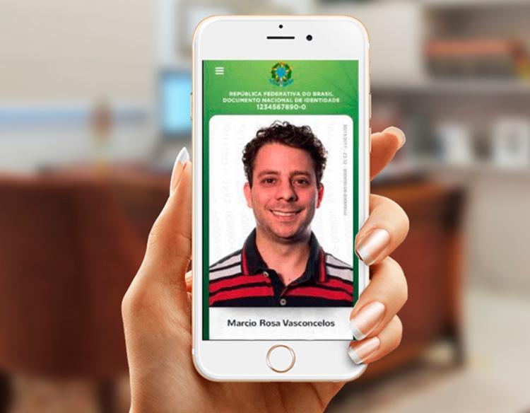 O candidato não poderá utilizar o celular para ter acesso ao documento digital - Foto: Divulgação