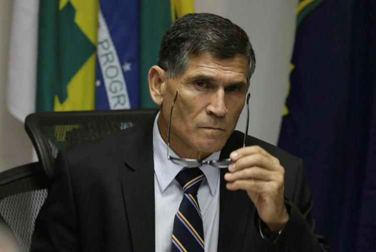 General Carlos Alberto, o homem da articulação política - Foto: Fabio Rodrigues Pozzebom | Agência Brasil