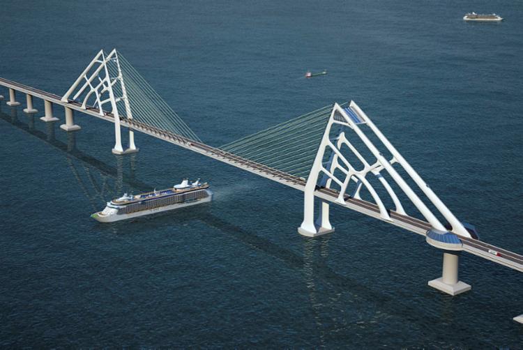 A ponte é a joia das obras no segundo mandato de Rui - Foto: Divulgação