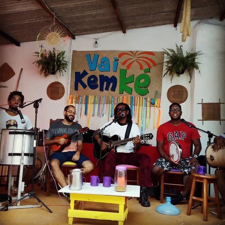 A Banda Auêto apresenta na Casa do Maestro o projeto 'Sambas e Levadas'