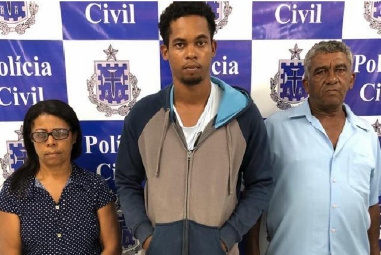 O trio foi localizado na última quarta-feira por policiais da Delegacia de Homicídios de Barreiras - Foto: Divulgação | Itaberaba Notícias