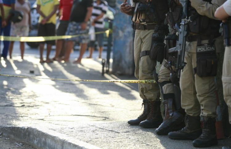 Alterar a cena de um crime, além de ser uma infração, pode prejudicar o andamento das investigações - Foto: Joá Souza / Ag. A TARDE